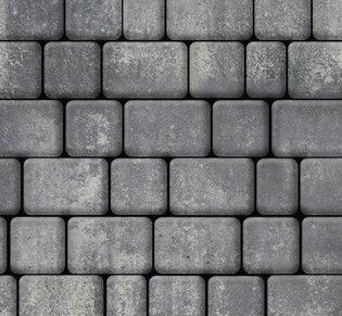 Тротуарная плитка Инсбрук Альт, 60 мм, ColorMix Актау, гладкая: фото