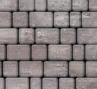 Тротуарная плитка Инсбрук Альт, 40 мм, ColorMix Умбра, гладкая: фото