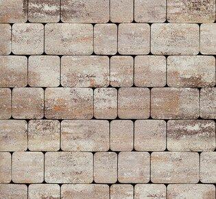 Тротуарная плитка Инсбрук Альт, 40 мм, ColorMix Берилл, гладкая: фото