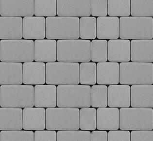 Тротуарная плитка Инсбрук Альт, 40 мм, серый: фото