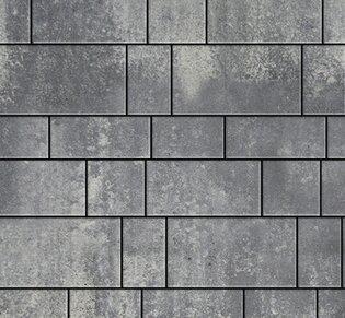 Тротуарная плитка Инсбрук Тироль, 60 мм, ColorMix Актау, гладкая: фото