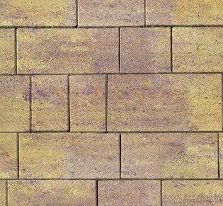 Тротуарная плитка Инсбрук Тироль, 60 мм, ColorMix Тахель, гладкая: фото
