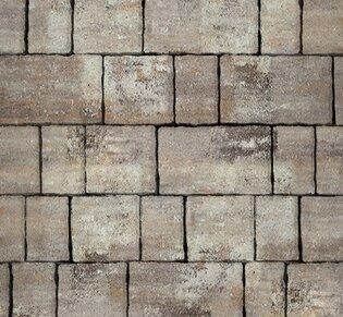 Тротуарная плитка Старый город, 60 мм, ColorMix Берилл, гладкая: фото