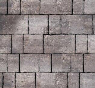 Тротуарная плитка Старый город, 60 мм, ColorMix Умбра, гладкая: фото